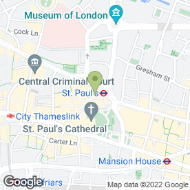 Map of Poncho 8 in London, london