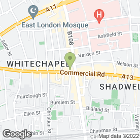 Map of Shopfittings Displays in LONDON, london