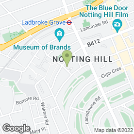 Map of Car Care of Kensington in London, london