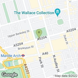 Map of Radisson Blu Portman Hotel in London, london