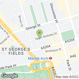Map of Rose Court Hotel in London, london