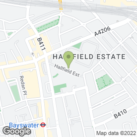 Map of The Garway Medical Practice in London, london
