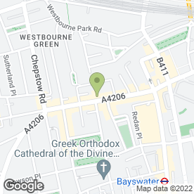 Map of Alounak Restaurant in London, london