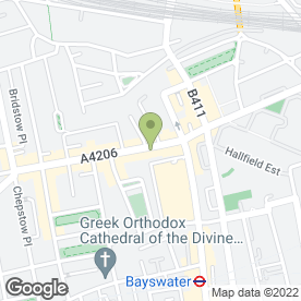 Map of Sadaf Restaurant in London, london