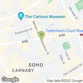 Map of CT Services Group Ltd in London, london