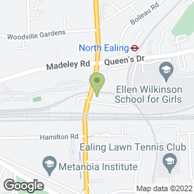 Map of Shell Ealing in Ealing, London, london