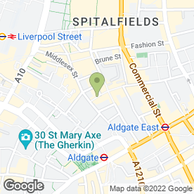 Map of Rita in London, london