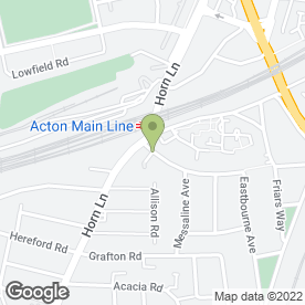 Map of Pickering Bedrooms in Acton, London, london
