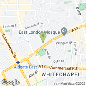 Map of UAE Exchange UK Ltd in London, london