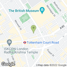 Map of Thompsons Solicitors LLP in London, london