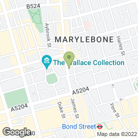 Map of Kumon maths and English study centre (Marylebone) in LONDON, london
