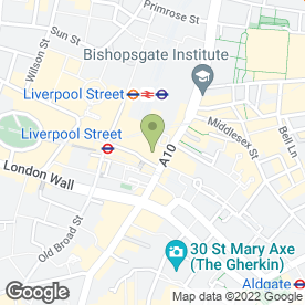 Map of George in London, london