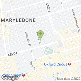 Map of Andre Geel Consultant Clinical Psychologist in London, london