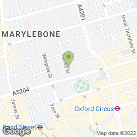 Map of Steven Fullagar Osteopath in London, london