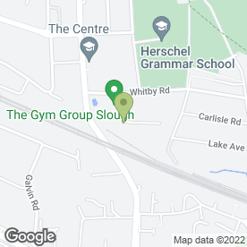 Map of Big Yellow Self Storage Slough in SLOUGH, berkshire