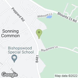 Map of Vauxhall - Sonning Common Garage in Reading, berkshire