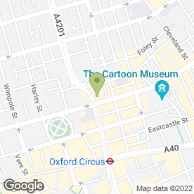 Map of SAINT GEORGES HOTEL in London, london