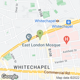Map of Express Retail Solutions Ltd in London, london