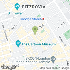 Map of In Parma By Food Roots in London, london