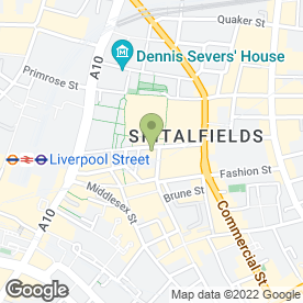 Map of Smash Foods Ltd in London, london