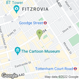 Map of FINO in London, london