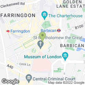 Map of Banh Mi Faigon in London, london