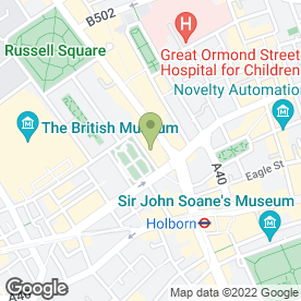 Map of All Star Lanes in London, london