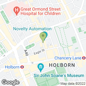 Map of Turquoise Restaurant Ltd in London, london