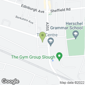Map of Vauxhall - Burnham Garage in Slough, berkshire