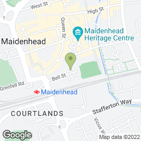 Map of Computer Forge Ltd in Maidenhead, berkshire