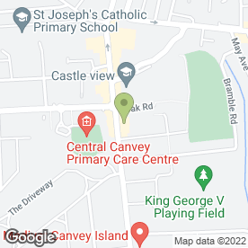 Map of C & G Leisure in Canvey Island, essex
