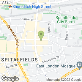 Map of Dulhan Wedding Services in London, london