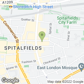 Map of Sunrise Wedding Services Ltd in London, london