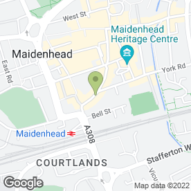 Map of MAIDENHEAD DENTAL CENTRE in Maidenhead, berkshire