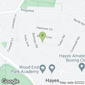 Map of Mccauley Imaging Ltd in Hayes, middlesex