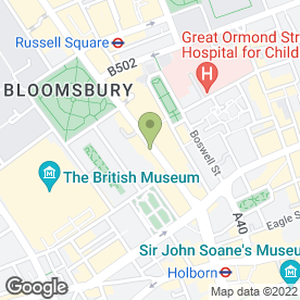 Map of Denise's Restaurant in London, london
