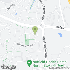 Map of Avanti Cars in Stoke Gifford, Bristol, avon