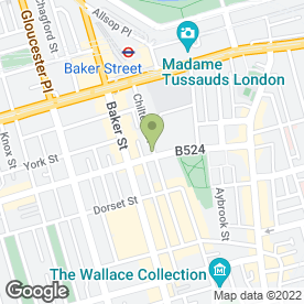 Map of The Wedding Outlet in London, london