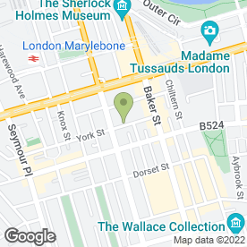 Map of BK & B Supplies in London, london