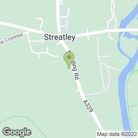 Map of The Bull in Streatley, Reading, berkshire