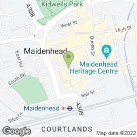 Map of Sheargold Pianos Ltd in Maidenhead, berkshire