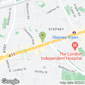 Map of Genesis Cinema in London, london