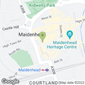 Map of Kall Kwik in Maidenhead, berkshire