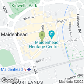 Map of R.H Sands & Sons in Maidenhead, berkshire