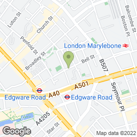 Map of Minar Driving School in London, london