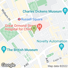 Map of Rakehell Tailoring in London, london