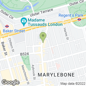 Map of Cameron Black in London, london