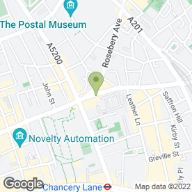 Map of Griffin Public House in London, london