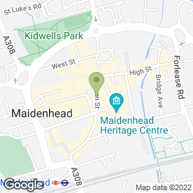 Map of Pike, Smith & Kemp in Maidenhead, berkshire