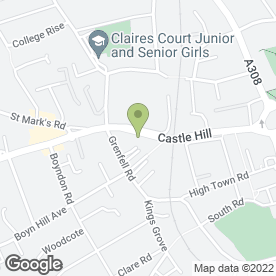 Map of Elva Lodge Hotel Ltd in Maidenhead, berkshire